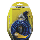 Xscorpion 1.5TR Rca Cable 1.5' Blue Triple Shielded W/Remote Wire