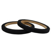 "Nippon RING08CBK 8"" Wood Speaker Ring With Black Carpet Sold In Pairs"