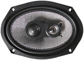 "American Bass SQ6.9 Speaker 6X9"" 3-Way 200Watt American Bass;Carbon Fiber"