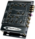 Planet Audio EC20B 3-Way Electronic Crossover With Remote Woofer Level Control