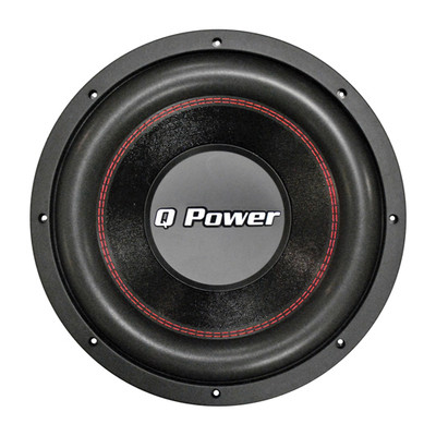 "Qpower QPF12D 12"" Woofer Deluxe Series Dvc Chrome Basket 70Oz. Mag 1700 Watts"