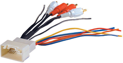 American International TWH17 Wiring Harness Toyota Amp Integrator