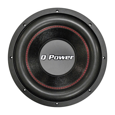 "Qpower QPF15D 15"" Woofer New Deluxe Series Dvc Chrome Basket 90Oz. Magnet 2200"