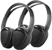 Power Acoustik HP902RFT Headphones Swivel Earpad Pr 2Ch.Rf 900Mhz