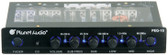 Planet Audio PEQ15 5 Band Equalizer Aux Input Master Volume Control Half Din Size Chassis