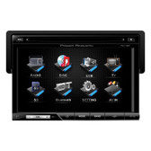 "Power Acoustik PD710B Oversized 7"" Detach Touch Screen Receiver Tft/LCD Dvd Am/Fm  Bluetooth A2Dp"