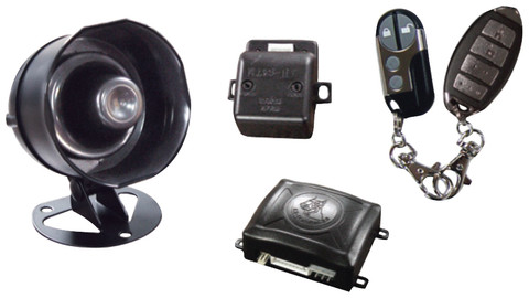 Excalibur K9MUNDIALSSX Omega Keyless Entry And Security Starter Interrupt Two 4 Button Transmitters