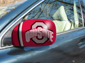 FANMATS 12664 Ohio State Small Side View Mirror Covers