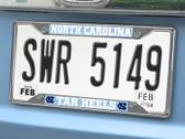 FANMATS 14901 North Carolina License Plate Frame