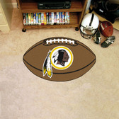 FANMATS 5871 Washington Redskins Football Shaped Mat