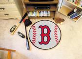 """FANMATS 6332 Boston Red Sox 27"""" Baseball Mat"""