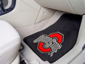 "FANMATS 5293 Ohio State Carpeted Car Mat 18"" X 27"""