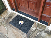 FANMATS 11455 Pittsburgh Steelers Heavy Duty Front Outdoor Mat