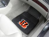 FANMATS 8891 Cinncinati Bengals Heavy Duty Vinyl Car Mats