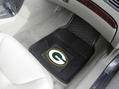FANMATS 8756 Green Bay Packers Heavy Duty Vinyl Car Mats
