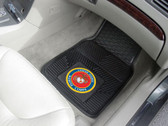 FANMATS 11038 Marines Heavy Duty Vinyl Car Mat