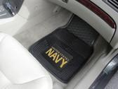 FANMATS 11041 Navy Heavy Duty Vinyl Car Mat