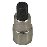 "Lisle 12570 Brake Caliper Hex Bit Socket, 3/8"" Drive, 3/8"" Hex Bit"