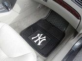 FANMATS 8759 New York Yankees Heavy Duty Vinyl Car Mat