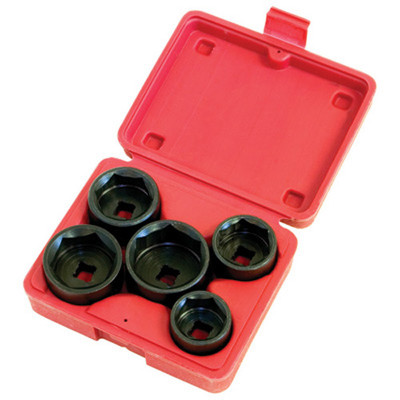 Lisle 13300 Oil and Fuel Filter Socket Set, 5 Piece