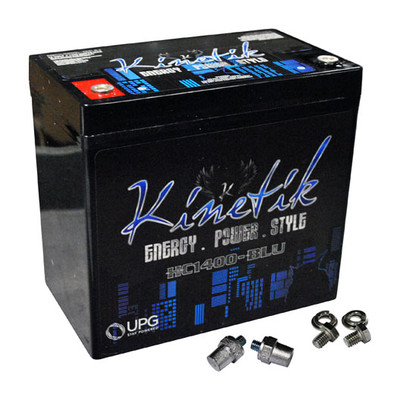 Kinetik HC1400BLU Blu 1400W 12V Power Cell