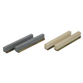 "Lisle 16440 Stone Set, 80 Grit, 1-3/4"" to 2-3/16"""