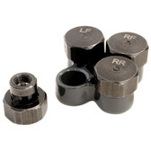 Lisle 19860 Tire Deflator Set, for TPMS Valve Stems