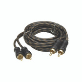Audiopipe CPP6 24Kt Gold Plated Interconnect Cable 6Ft