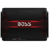 Boss Audio PD4000 Phantom 4000 Watts  Class D Monoblock Power Amplifier Remote Subwoofer Level Control