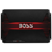 Boss Audio PF2200 Phantom 2200 Watts 4 Channel Power Amplifier Remote Subwoofer Level Control