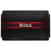 Boss Audio PF2600 Phantom 2600 Watts 4 Channel Power Amplifier Remote Subwoofer Level Control