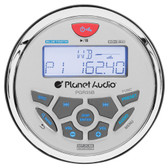 "Planet Audio PGR35B 3.5"" Marine Radio Bluetooth Rear Aux Input Am/Fm Rear Charging USB"