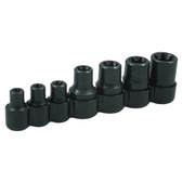 Lisle 26750 External Torx Bit Socket Set 7 Piece, E6 to E16