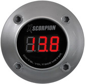 Xscorpion DVM3RS Voltmeter Digital 3 Digit LED Display Silver