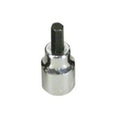 "Lisle 33870 Hex Bit Socket 3/8"" Drive, 4mm"