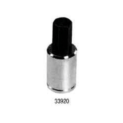 "Lisle 33920 Hex Bit Socket 3/8"" Drive, 10mm"