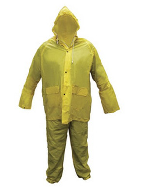 SAS Safety 6812 Light Weight Pvc Rain Suit Medium
