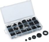 Titan Tools 45214 125 Piece Rubber Grommet Assortment