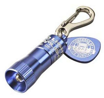 Streamlight 73002 Blue Cops Nano Key Chain Light