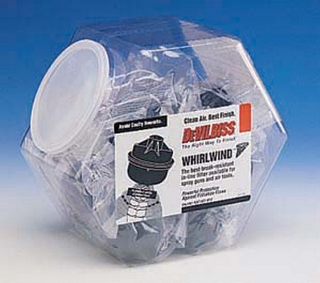 Devilbiss 130095 Whirlwind Filters - Disposable Air Tool Filters (Haf507K2)