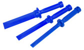 Lisle 81200 3 Piece Plastic Chisel Scraper Set