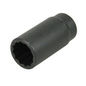 "Lisle 39510 Axle Nut Socket 30mm, 12 Point, 1/2"" Drive"