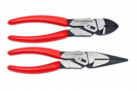 Gearwrench 82124 2 Pc Pivot Force Compound Action Plier Set