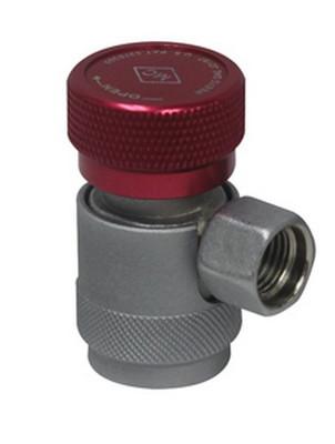 Mastercool 82834-SL High Side Manual R134A Safety Lock Coupler 14 Mm-F X 13 Mm