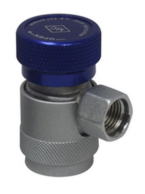 Mastercool 82934-SL Low Side Manual R134A Safety Lock Coupler 14 Mm-F X 13 Mm