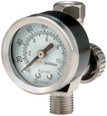 Devilbiss 180006 Air Adjusting Valve With Gage