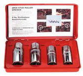 Sunex Tools 8804M 1/2 Dr Metric Stud Puller 4Pc