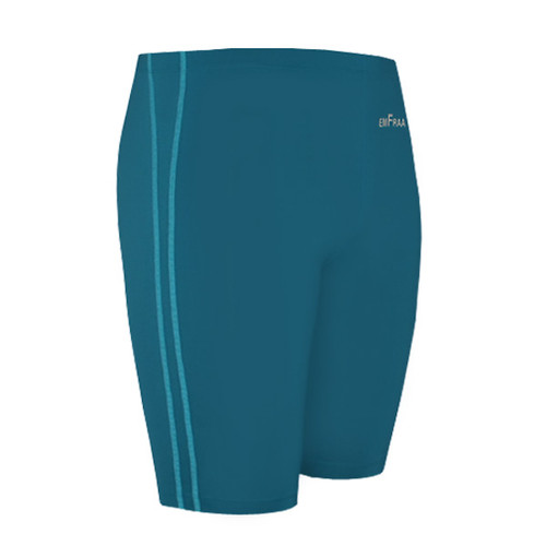 emfraa spandex skin tight base layer neoblue shorts