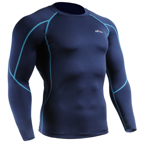 emfraa compression shirt skin garments navy