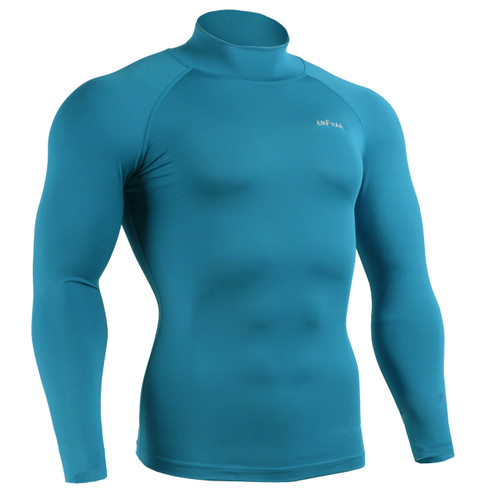 emfraa mock neck compression shirt